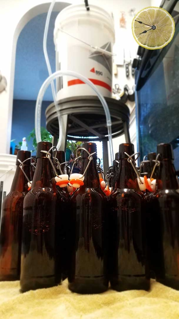 Bottling Heather Ale mead at home