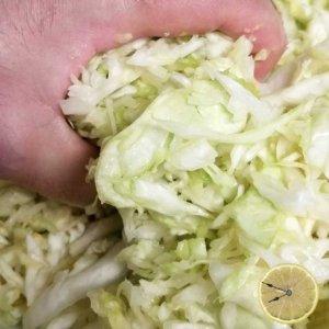 Fermented Sauerkraut recipe by Lemons and Time