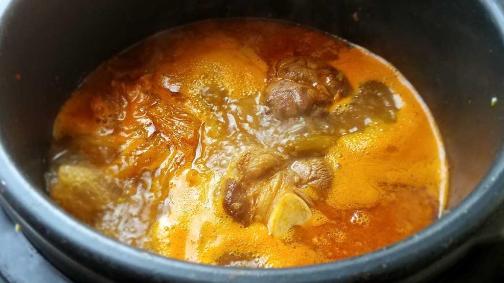 Instapot Korean Beef Shanks