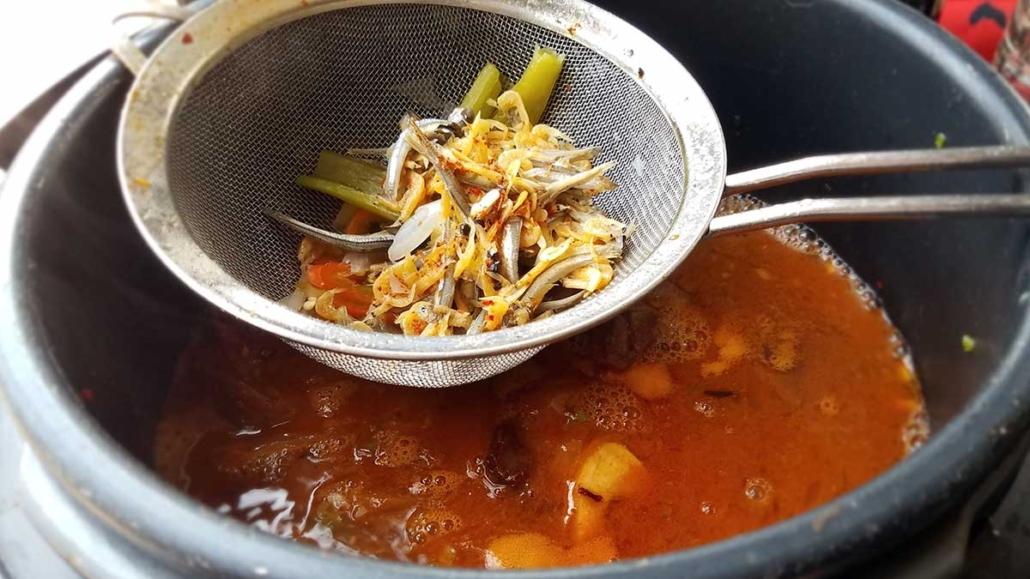 Anchovy Broth for Kimchi Jiigae